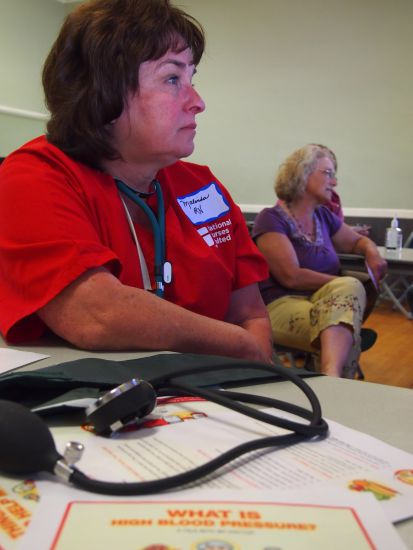 Malinda Markowitz, Vice President of the California Nurses Association believes that mandated nurse-to-patient ratios have been a great success. Photo CNA