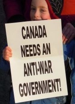 Haligonians with a demand and an agenda