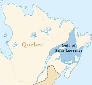 Five provinces border the Gulf of St. Lawrence, and all could be affected by an oil spill no matter where it originates.