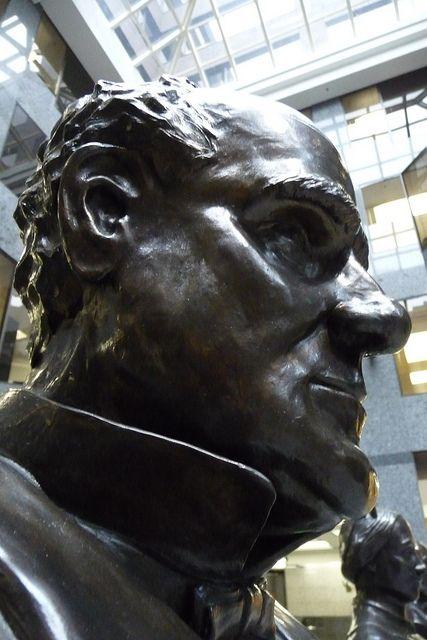 """Would Joseph Howe """"Herald"""" His Descendent? Ken Clare Thinks Not. Photo: Aaron Bihari"""