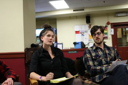 NSCAD students help plan the February 2nd day of action