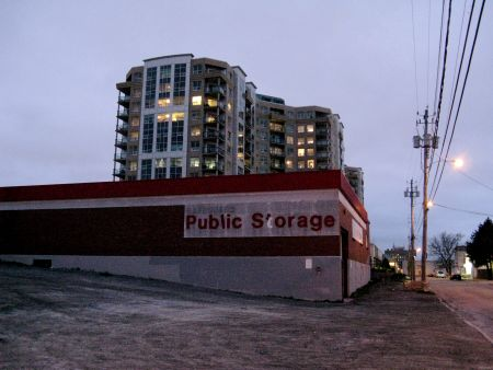 Condo development looms over Halifax's North End. Photo: Felix Kannemann