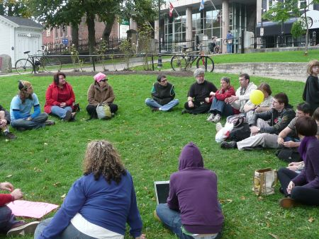 A discussion group on alternatives to capitalism.