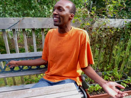 Marshall Williams of IMove, a program that seeks to engage incarcerated and at-risk youth in media-based forms of self-expression.  Williams believes that if the money spent to keep people in prison was redirected to community programs and supports, we'd see fewer people locked up.  Photo: Christopher Cohoon