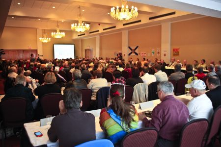 A crowd of close to 300 concerned Nova Scotians were in attendance