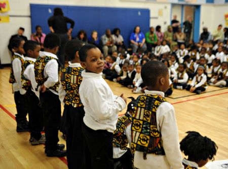An Africentric Alternative School began operating in the Toronto District School Board in 2009. (Photo: getusonthebus.wordpress.com)