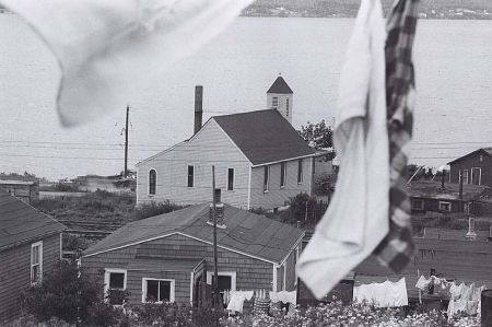 You can't bury our history like your buried our community, says Denise Allen. Photo: Nova Scotia Archives, taken by Bob Brooks in Africville in 1965