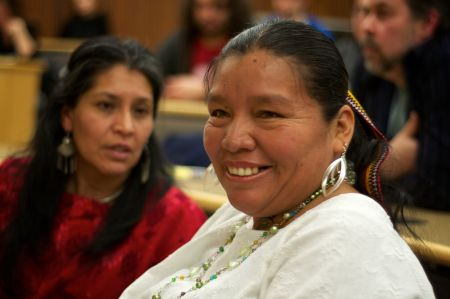 Angelica Choc is one of 13 Indigenous Mayans making human rights claims against Canadian mining company HudBay Minerals Inc. (Photo: John McCarthy).