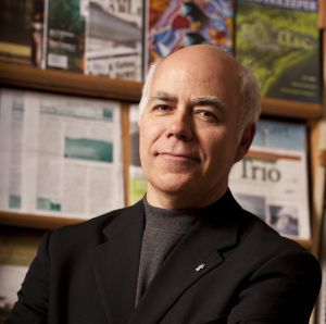 """There's nowhere else in the country where you have one single corporate player that dominates the economy so overwhelmingly."" - David Coon on the Irving Empire [Photo: davidcoongreenparty.wordpress.com]"
