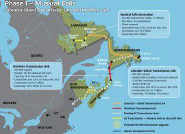 The Maritime Link is shorthand for a mega-project that involves the damming of the Lower Churchill River, the construction of a generating plant at Muskrat Falls in Labrador, and the sub-sea cable and overhead transmission lines necessary to deliver electricity to Nova Scotia and beyond.