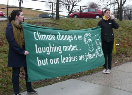 Activists Call for Climate Justice