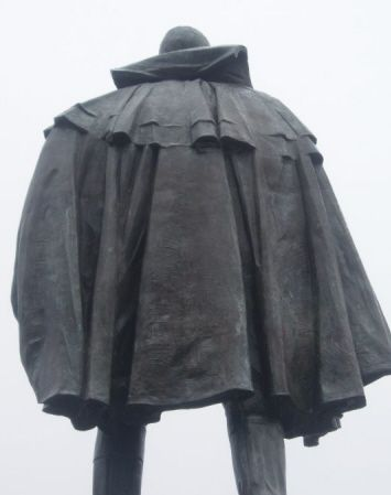 Cornwallis' back! (from Daniel Paul's web site)