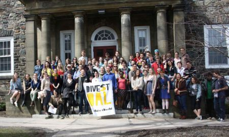 Students will find out on Tuesday if Dalhousie University plans to withdraw its fossil fuel investments. Photo Kendra Lovegrove