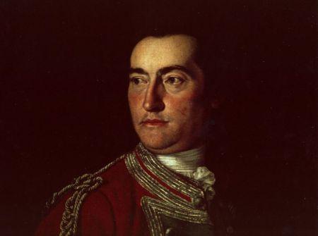 Portrait of Edward Cornwallis by Sir George Chalmers, Minorca, 1755.