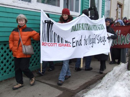 Halifax march calls for end to Israeli oppression