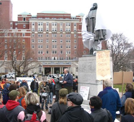 Another view of the rally