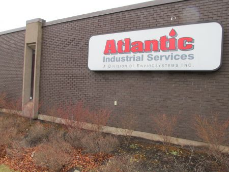 Atlantic Industrial Services is the Maritime's largest processor of industrial wastewater. They are looking to dump fracking wastewater down the Debert sewer system. [Photo: K. Summers]