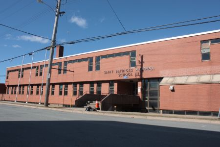 The former St. Pat's-Alexandra school. (Photo by Hilary Beaumont)