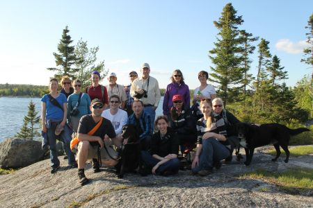 Group Photo at Susies Lake on the June 4th Hike (Photo: Jennifer Smith)