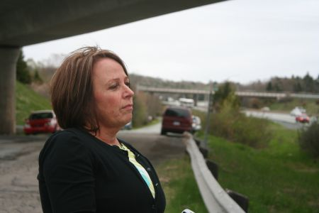 """Brenda Hardiman, advocate and mother of a Quest resident, believes that the announced """"best practices review"""" at the institution is not good enough.  She wants to see a public inquest into the violent death of Gordon Longphee.  Photo Robert Devet"""