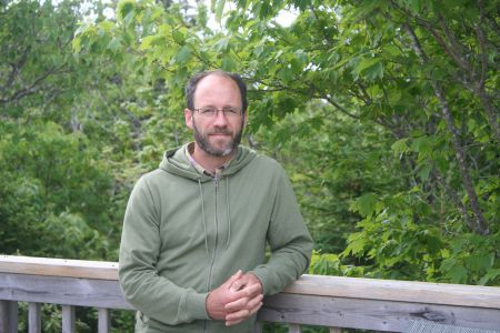 Jamie Simpson is the author of a recently published book on old growth forests in the Maritimes. He argues that we should make efforts to restore old growth forests, and that current commercial forestry practices are devastating our forests and ruining their future.  Photo Robert Devet