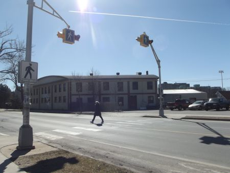 Last year 122 of 208 collisions in HRM happened in a crosswalk. photo: Katie Ingram