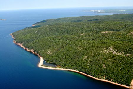 Kluscap Mountain in Cape Breton is just one of 100 properties recently designated protected by the Nova Scotia provincial government. [Photo: EAC]