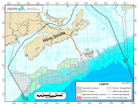 Exploration parcels 1 - 4 straddle Georges and Browns Bank, areas that are key to Nova Scotia's vibrant fisheries [Photo: CNSOPB]