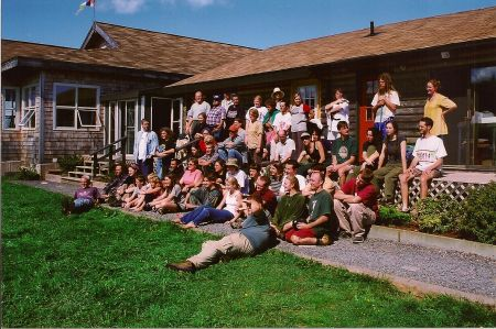 """NSEN's 1999 Annual Fall Gathering (AFG) at Dorje Denma Ling in Tatamagouche. """"NSEN helps us avoid duplication, collaborate on skill-building and give collective feedback on key policy decisions,"""" said Clean Nova Scotia's Gina Patterson at a press conference in Halifax on Wednesday."""