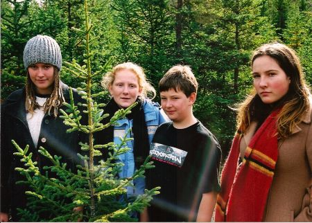 The Youth Environmental Group visits a clear cut in Ship Harbour with the Standing Tall campaign.