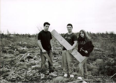 The Nova Scotia Environmental Network (NSEN), which provides support to grassroots environmental groups across the province, is out its $18,000 allotment in federal funding as of an October 13 announcement by Environment Canada. Pictured here: A group of teens visits a clear cut on the Eastern Shore of Nova Scotia in 2003 as part of the Standing Tall campaign, a project of the Ecology Action Centre, an NSEN member group. Photo by Rochelle Owen.