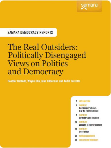 The Real Outsiders - Samara's 2011 Report