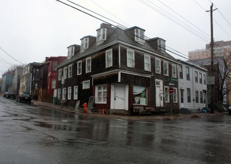 The Robert Street Social Centre's new home on the corner of Creighton and Falkland. (Photo by Hilary Beaumont)
