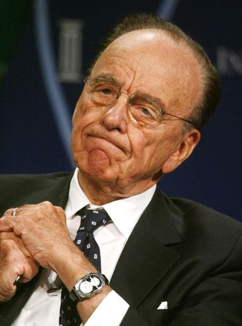 Fox founder Rupert Murdoch expresses satisfaction with new partnership.