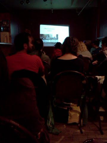 Presentations on UK Uncut, Québec Solidaire and the Greater Toronto Workers Assembly.