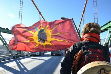 Canadians need to learn their history, say Idle No More organizers (Photo: Lesley Thompson).