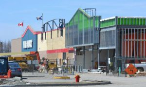 Wal-Mart's expansion was not the only change the company made to its Spar Road store this year, it also replaced local contractor Delio's with an Ontario firm.