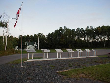 The Westray Memorial above ground where 11 miners remain trapped in New Glasgow, Nova Scotia. (photo: BCameron3 via Wikipedia)