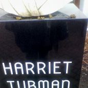 Harriet Tubman Memorial Bust defacement image 2