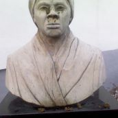 Harriet Tubman Memorial Bust defacement image 7
