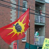 Aboriginal peoples were amoung those concerned with the policies and actions of the G8