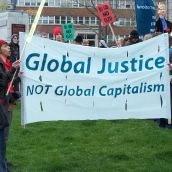 March Against the G8 in Halifax