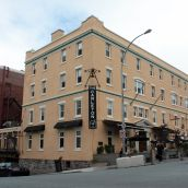 The Carleton:  The bar is located in a 254-year-old building across the street from the blasting site. (Photo: HB)