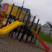 Whitney Pier. The playground is not a barrier because it is free to the public to play on!