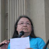Alma Brooks from the Wabanaki Confederacy. Photo: Miles Howe