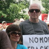 No More Fracking. Photo: Miles Howe