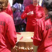 Native women drummers