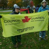 Support from the Council of Canadians