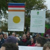 Climate Change Rally on the Common