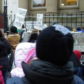 Photos from Midwife Rally. January 20th, 2011. Provincial House, Halifax, Nova Scotia